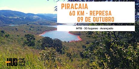Represa de Piracaia - 60  km - MTB - Intermediário + ingressos