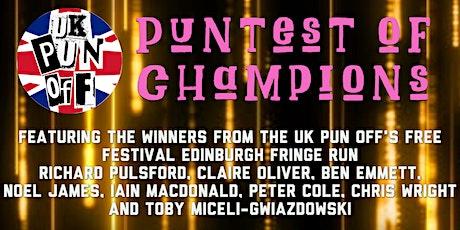 UK Pun Off Puntest of Champions tickets