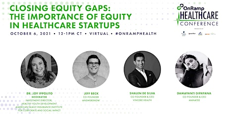 Closing Equity Gaps: The Importance of Equity in Healthcare Startups tickets