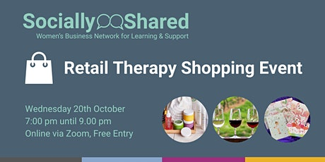 Retail Therapy Shopping Showcase tickets