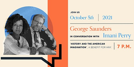 George Saunders and Imani Perry: History and the American Imagination tickets