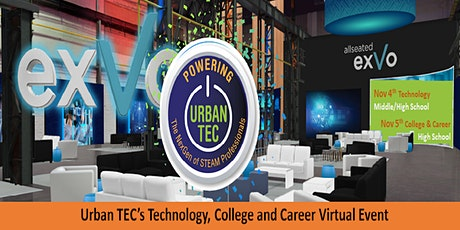 Urban TEC's Technology, College and Career Virtual Live Event tickets