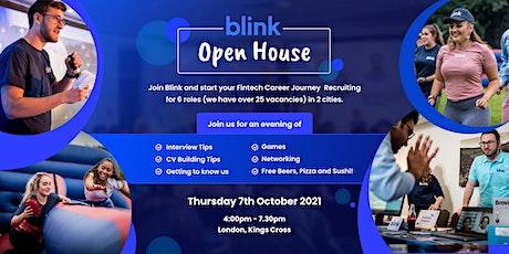 Blink Open House:  Fintech Recruitment Day at London, Kings Cross-Oct 2021 tickets