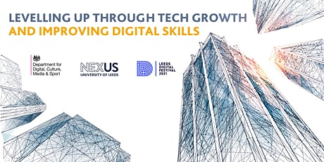 Levelling up through tech growth and improving digital skills tickets