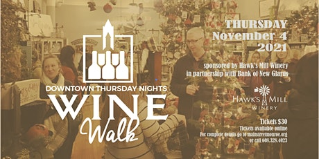 Downtown Monroe November Wine Walk 2021 tickets