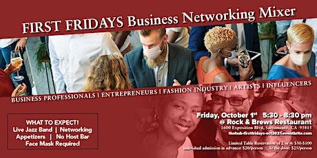 October First Fridays Business Mixer tickets