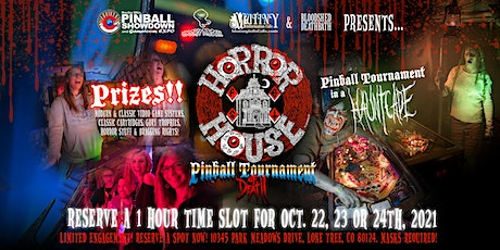 Horrorhouse Fest - Pinball Tournament of Death 2021 tickets