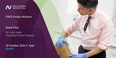 Free Patient Webinar with Q&A - Knee tickets