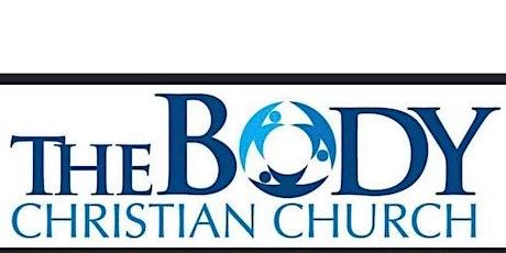 The Body Christian Church 7th Anniversary celebration tickets