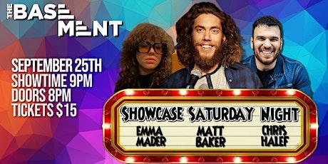Showcase Saturday Night - Matt Baker billets