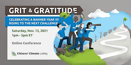 Grit and Gratitude: CCL's November 2021 Virtual Conference billets