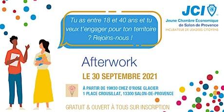 Afterwork Citoyen de la Jeune Chambre Economique billets