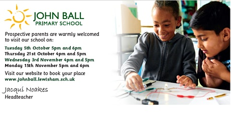 Open Evening 15th November 6pm - 6.45pm with Headteacher talk at 7pm tickets