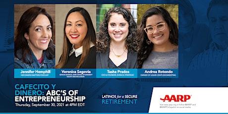 Cafecito y Dinero: ABC's of Entrepreneurship tickets