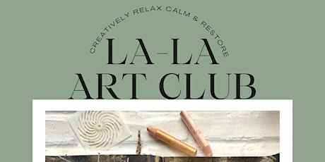 La-La Art Club:  6 Session Block tickets