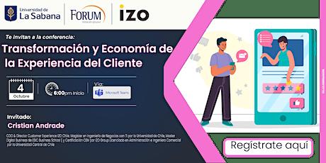 Transformación y Economía de la Experiencia del cliente entradas