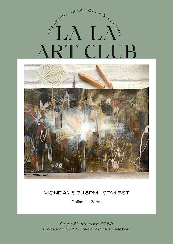 La-La Art Club:  6 Session Block image