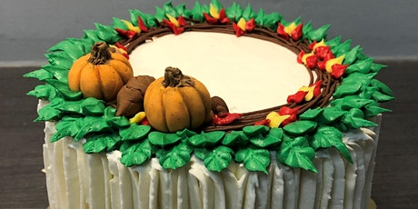 IN-PERSON Fall Cake Decorating Class - Fundraiser tickets
