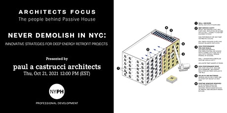 ARCHITECTS FOCUS | Never Demolish in NYC - Innovative strategies tickets