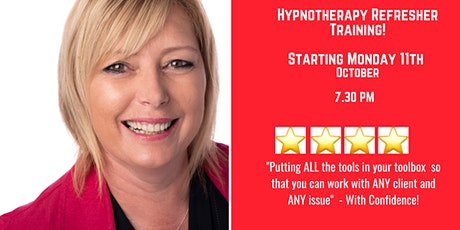 Hypnotherapy Refresher Training tickets