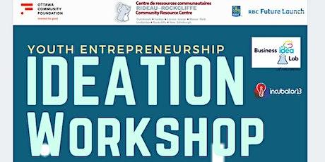 Youth Entrepreneurship Ideation Workshop tickets