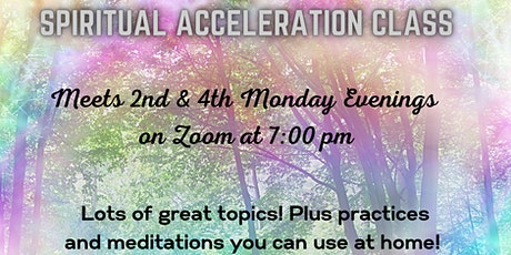 Spiritual Acceleration Class tickets