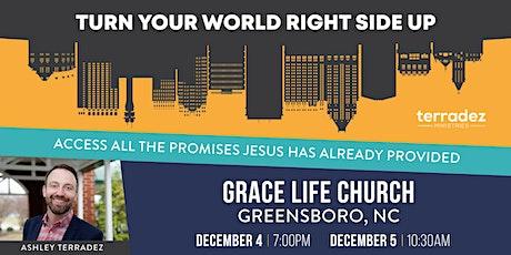 Ashley Terradez at Grace Life Church in Greensboro tickets
