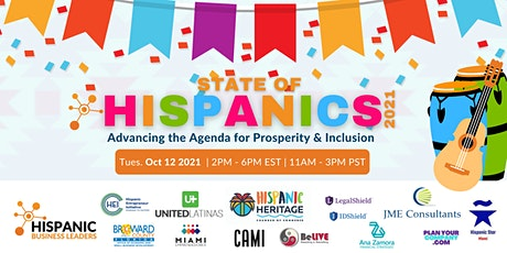 The State of Hispanics 2021: Advancing the Agenda of Prosperity & Inclusion tickets