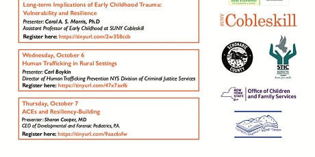 5th annual ACEs Conference -Schoharie County Safe Harbour and ACEs team tickets