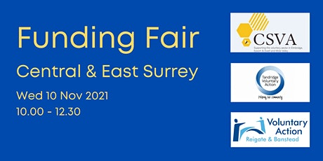 Funding Fair - Central & East Surrey tickets