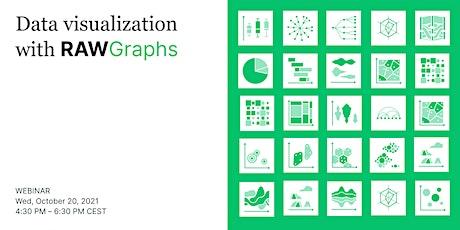 Data visualization with RAWGraphs - Webinar tickets