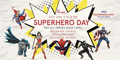 Chick-fil-A Southaven Superhero Fall Festival tickets