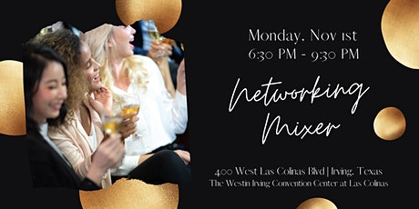 Networking Mixer Coming to Irving TX tickets