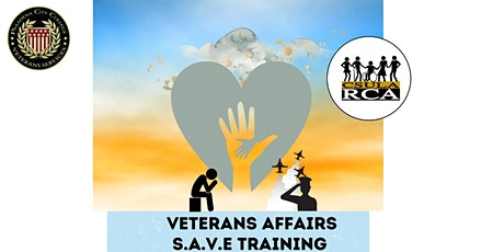 SAVE Training hosted by CSULA Rehabilitation Counseling Association (RCA) tickets