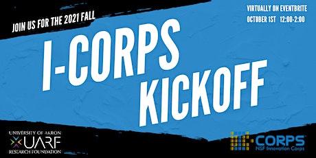 I-Corps KickOff tickets