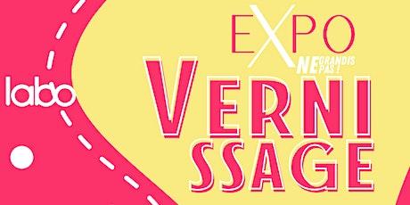 "Vernissage EXPO ""Ne Grandis Pas"" - Artiste Karen Vanderborght billets"