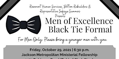 Men of Excellence Black Tie Formal tickets