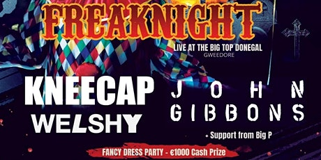 Fomhair Festival presents FreakNight,  Donegal tickets