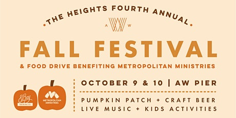The  4th Annual Heights Fall Festival tickets