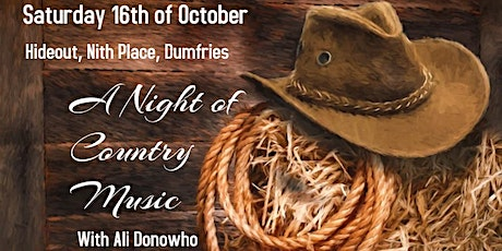 Country Music Night with Ali Donowho tickets