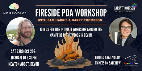 Fireside PDA workshop featuring Harry Thompson tickets