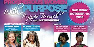 Prosperous Women with Purpose Prayer Brunch