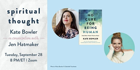 Spiritual Thought: An Evening with Kate Bowler tickets