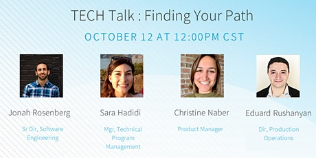 TECH Talk : Finding Your Path tickets