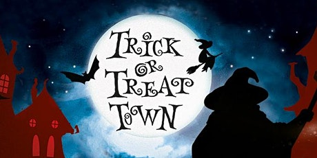 Trick or Treat Town. 28, 29 & 30 October from 6pm. tickets