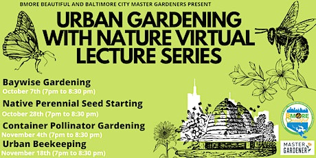 Gardening With Nature Virtual Lecture Series tickets