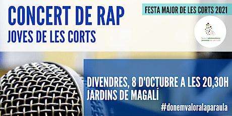 Concert de Rap (Joves Les Corts + Elane) FM Les Corts 2021 entradas