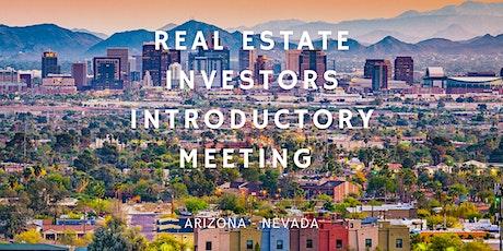 Real Estate Investors Introductory Meeting AZ | NV (Virtual Webinar) tickets