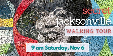 Secret Jacksonville walking tour tickets