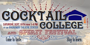 Milwaukee Cocktail College & Spirit Festival